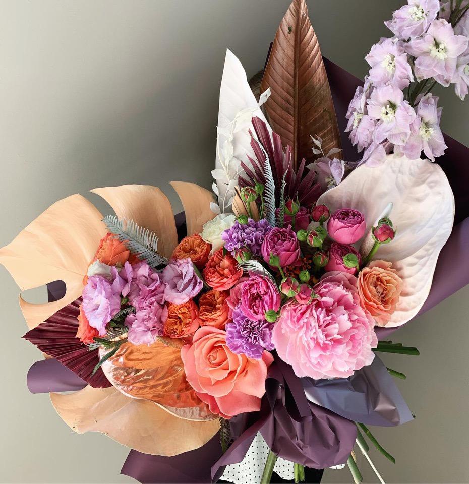 Новости D&K Flowers House: запуск магазина готовых букетов