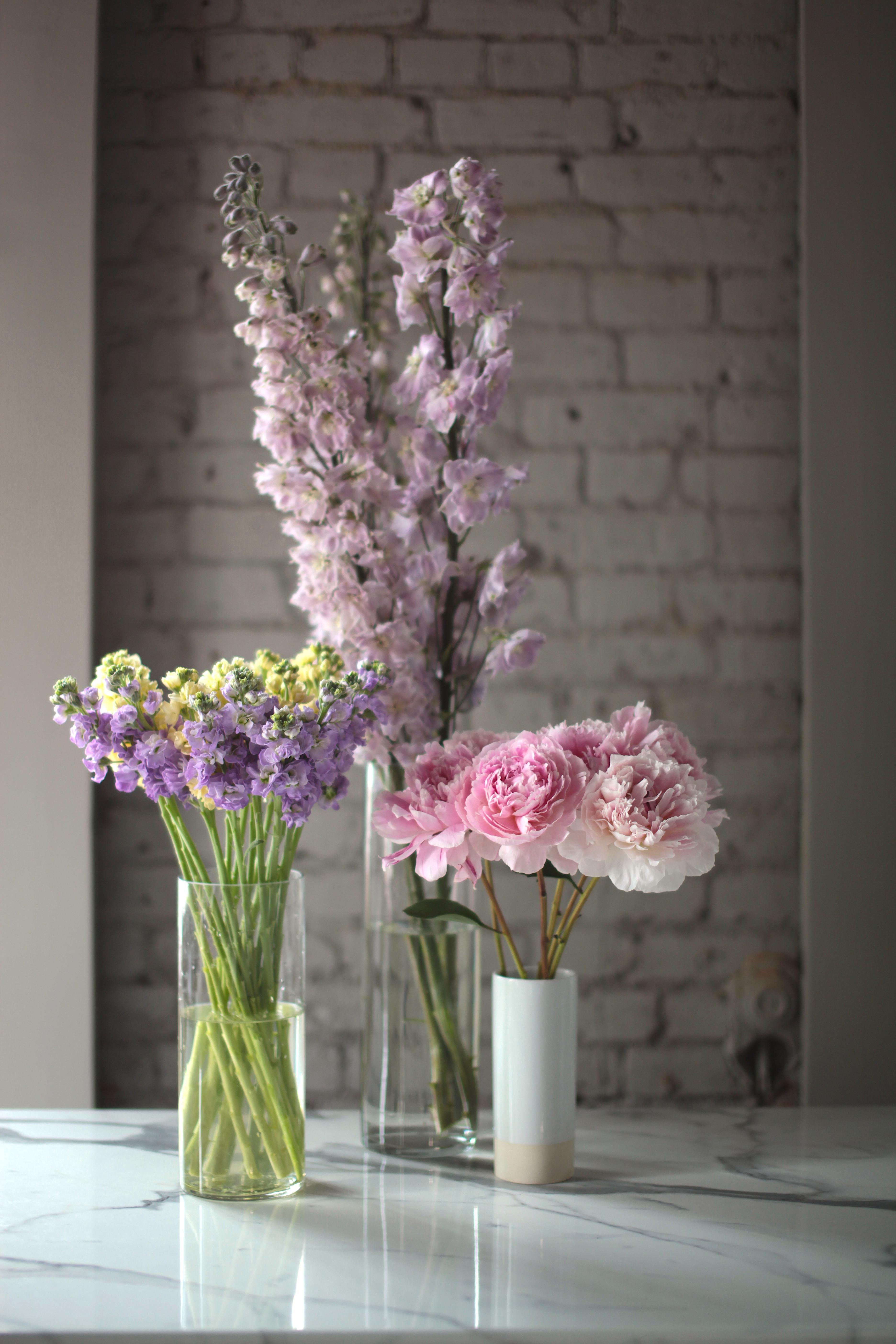 4 причины почему Вам стоит иметь срезанные цветы дома.